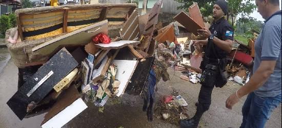 Após temporal, moradores contabilizam prejuízos em Rio Bonito