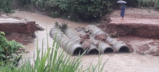Área rural de Rio Bonito continua isolada por causa da chuva