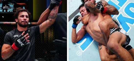 Atleta de Arraial do Cabo vence luta do UFC nos Estados Unidos
