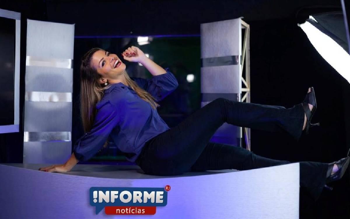 Cristina Frazão estreia novo projeto do Informe RJ