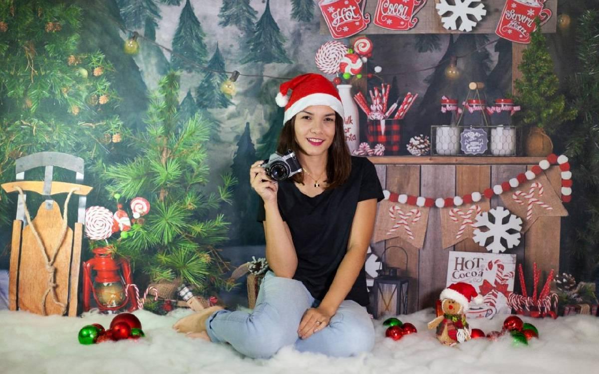 Fotógrafa vai realizar sessão de fotos de Natal em Silva Jardim