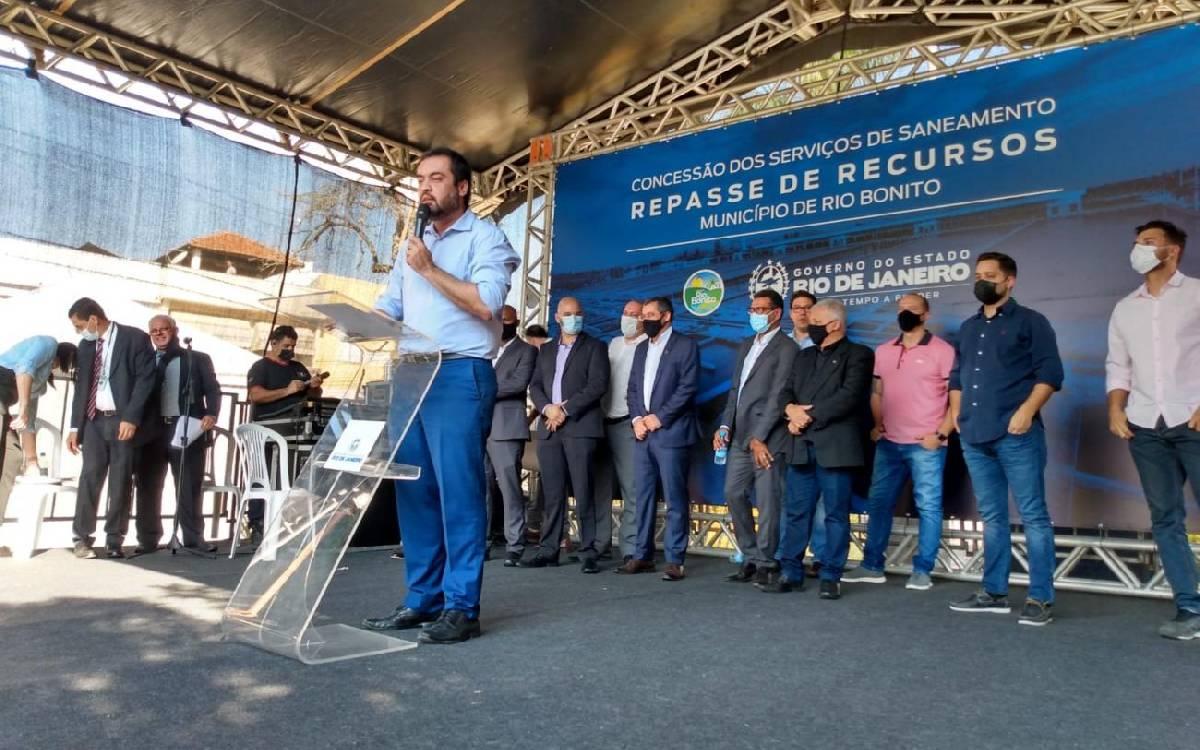 Governador do RJ visita Rio Bonito e destina R$ 71 milhões para a cidade