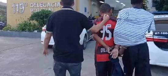 Jovem defeca nas calças ao ser preso em Rio Bonito