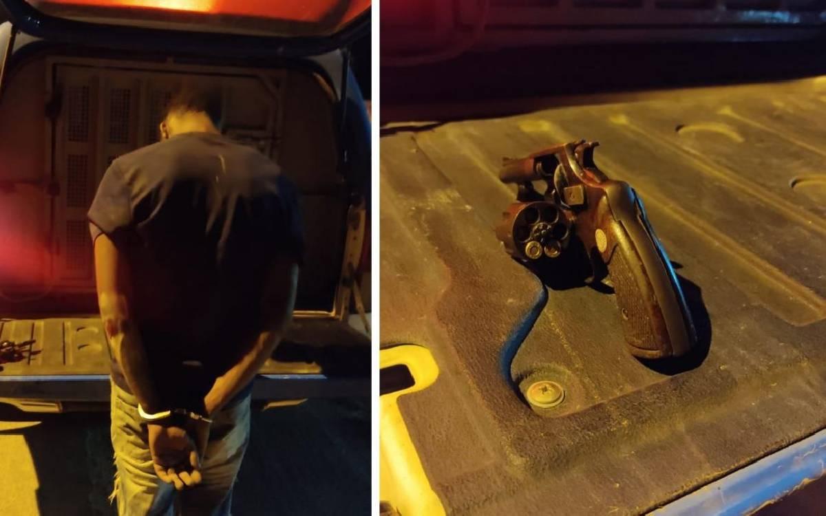 Motociclista armado bate em carro ao tentar fugir da PM em Silva Jardim