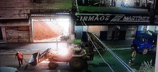 Polícia investiga se obra tinha autorização da Prefeitura de Rio Bonito
