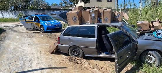 Polícia prende suspeito de roubar carga de cigarros em Rio Bonito
