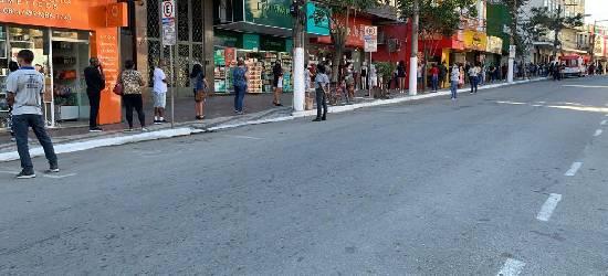 Prefeitura de Rio Bonito interdita ruas por causa de aglomeração