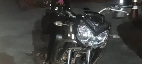 PRF apreende motocicleta adulterada em Rio Bonito