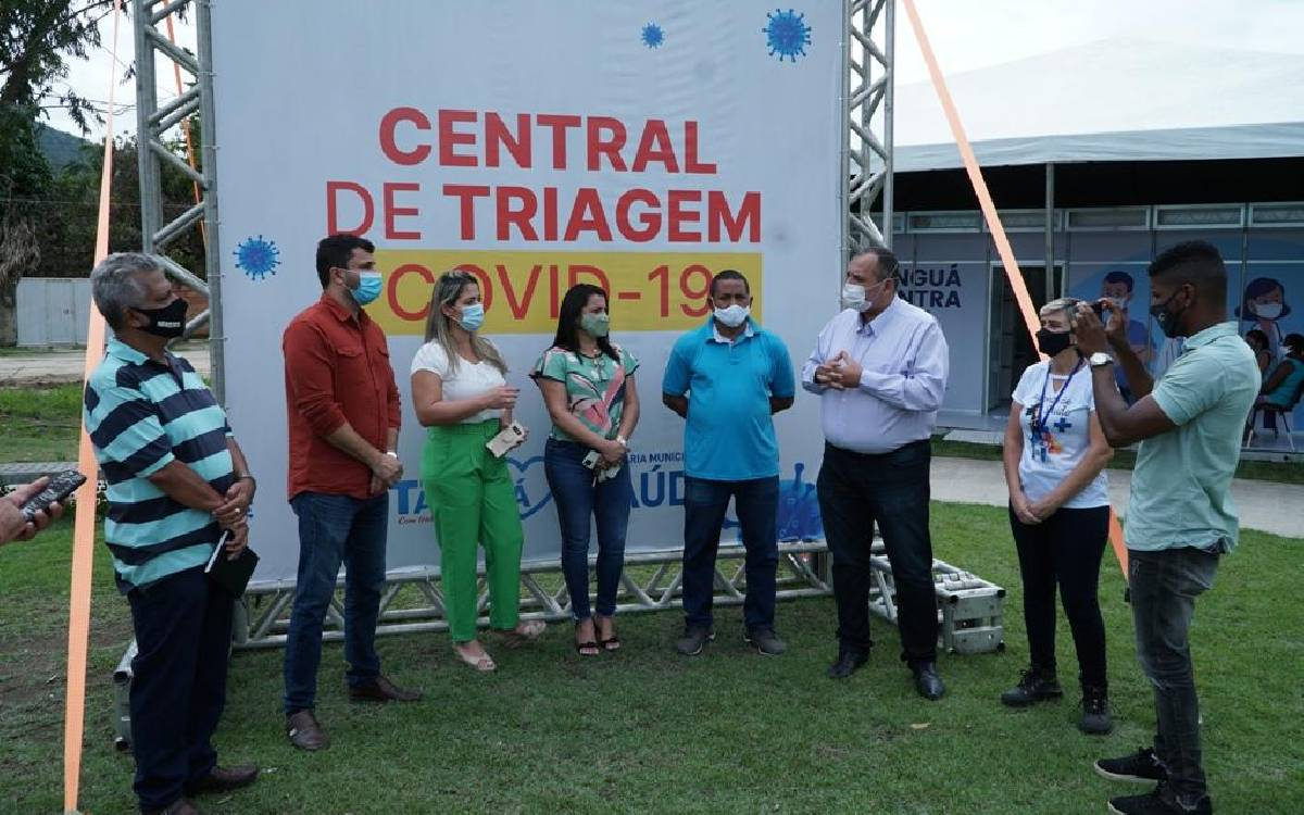 Tanguá inaugura três Centros de Triagem contra a Covid-19