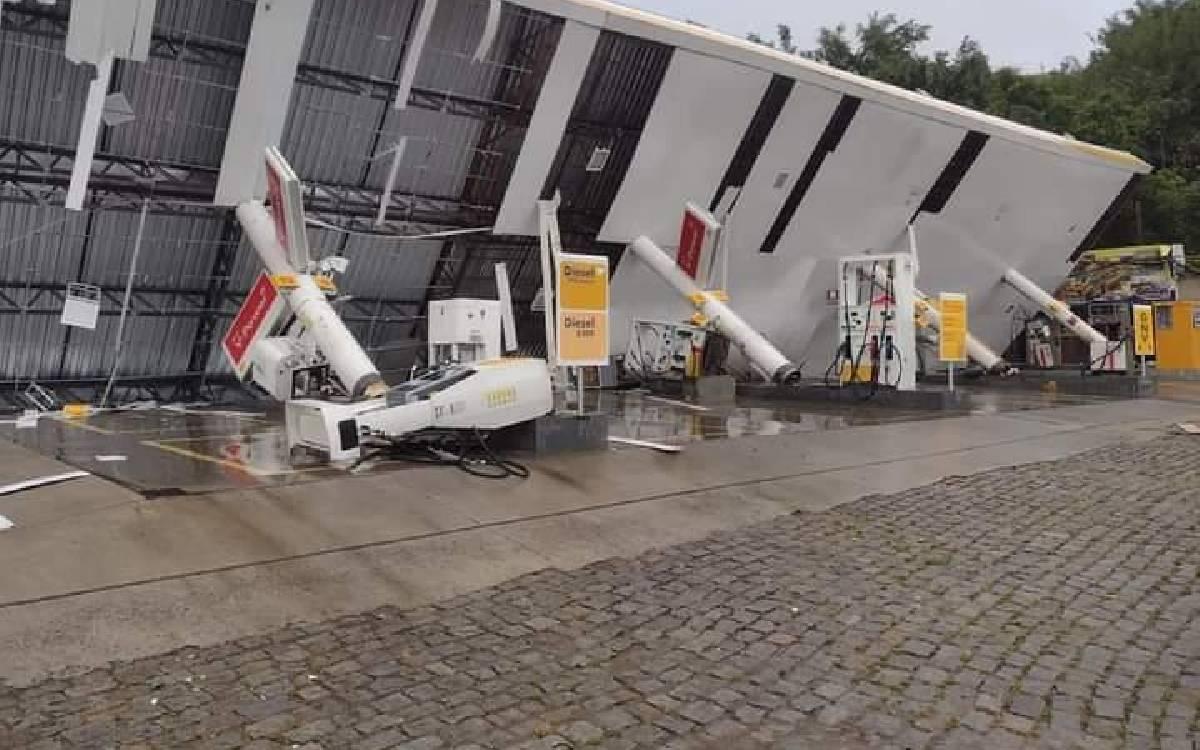 Tempestade deixa rastro de destruição em Rio Bonito; veja fotos