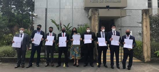 Vereadores eleitos de Silva Jardim são diplomados e prefeito segue indefinido